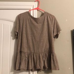 Plus Size Drop-Waist Tee